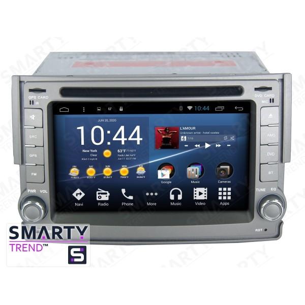 Штатная магнитола Smarty Trend для Hyundai H1 - Android 8.1 (9.0)