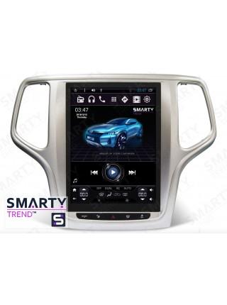 Штатная магнитола Smarty Trend для Jeep Grand Cherokee 2013+ (Tesla Style) - Android 6.0