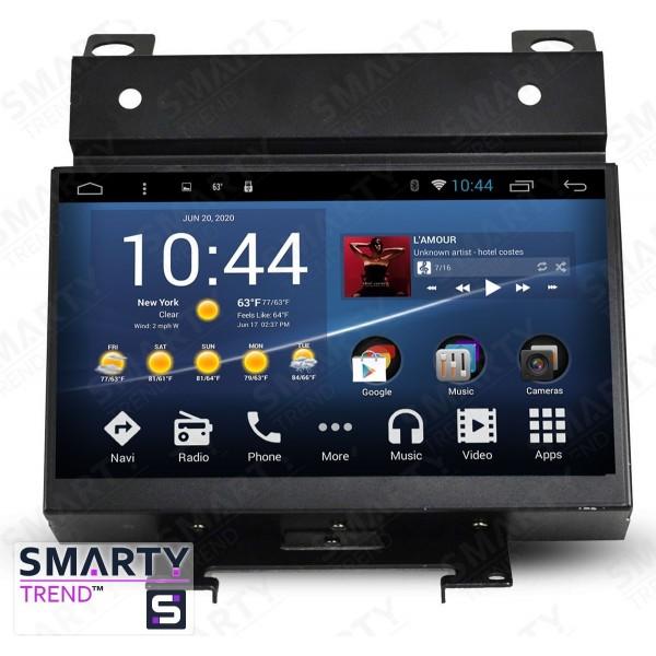 Штатная магнитола Smarty Trend для Land Rover Freelander 2 - Android 7.1