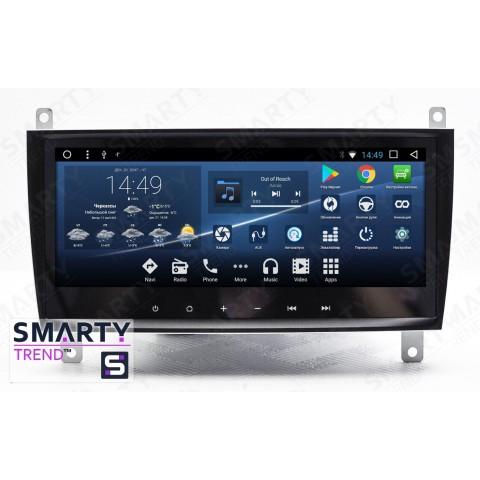 Штатная магнитола Smarty Trend ST3PW2-516P6005 для Mercedes Benz C-Class (w203) на Android 7.1.2 (Nougat)
