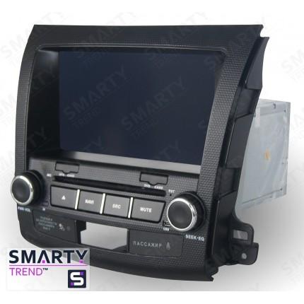 Штатная магнитола Smarty Trend для Mitsubishi Outlander XL 2005-2012 - Android 7.1