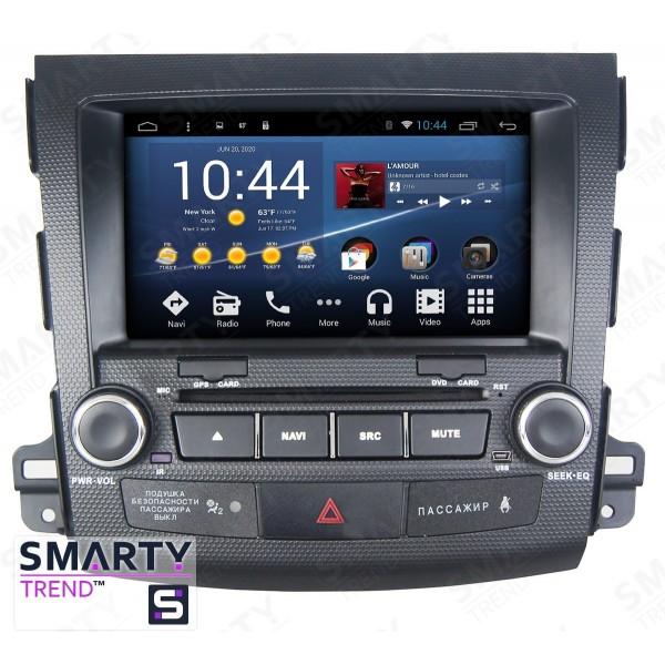 Штатная магнитола Smarty Trend для Mitsubishi Outlander XL 2005-2012 - Android 8.1 (9.0)