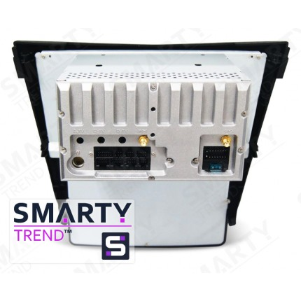 Штатная магнитола Smarty Trend для Nissan Qashqai 2014 (Automatic and Manual) (Tesla Style) - Android 6.0