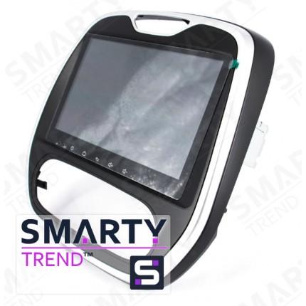 Штатная магнитола Smarty Trend для Renault Captur - Android 8.1 (9.0)