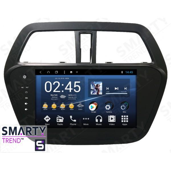 Штатная магнитола Smarty Trend для Suzuki SX4 2013+ - Android 8.1 (9.0)
