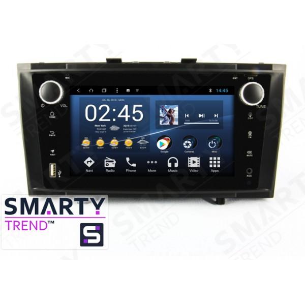 Штатная магнитола Smarty Trend для Toyota Avensis 2010-2014 - Android 8.1 (9.0)