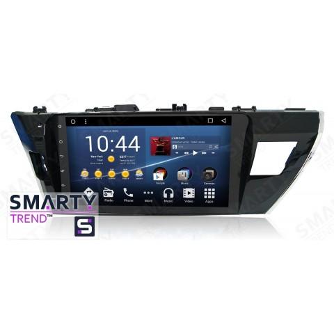 Штатная магнитола Smarty Trend ST3P2-516PK2697 для Toyota Corolla 2013-2016 на Android 7.1.2 (Nougat)