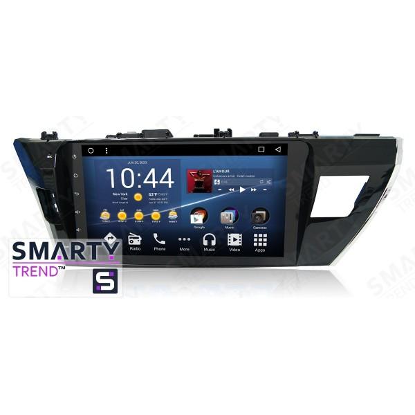 Штатная магнитола Smarty Trend для Toyota Corolla 2013-2016 - Android 7.1