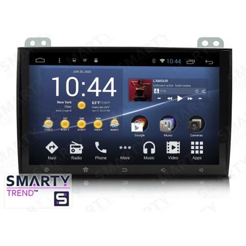 Штатная магнитола Smarty Trend ST8U-516PK2691 для Toyota Land Cruiser Prado 120 на Android 8.1.0 Oreo (обновление до Android 9.0 P)