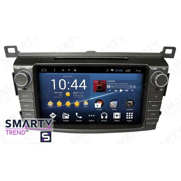 Штатная магнитола Smarty Trend для Toyota RAV4 2013-2016 - Android 8.1 (9.0)