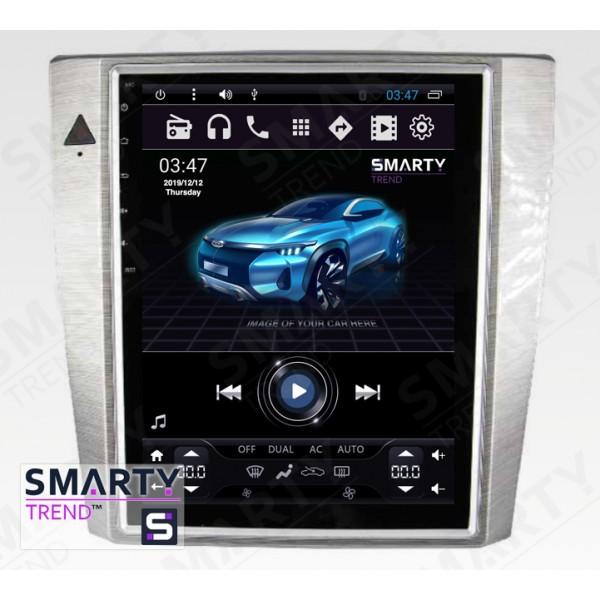 Штатная магнитола Smarty Trend для Volkswagen Passat B7 (Tesla Style) - Android 6.0