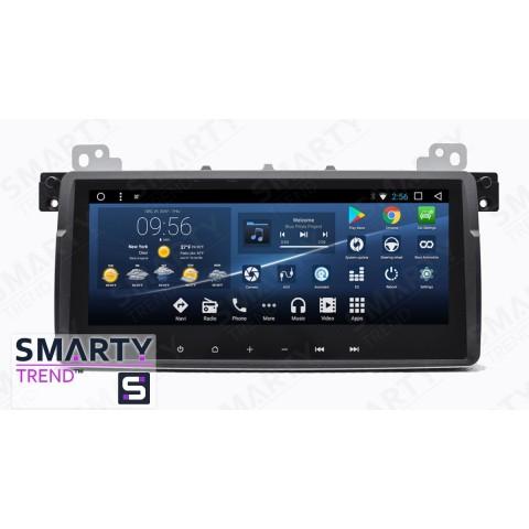 Штатная магнитола Smarty Trend ST3PW2-516P2803 для BMW 3 Series E46 на Android 7.1.2 (Nougat)