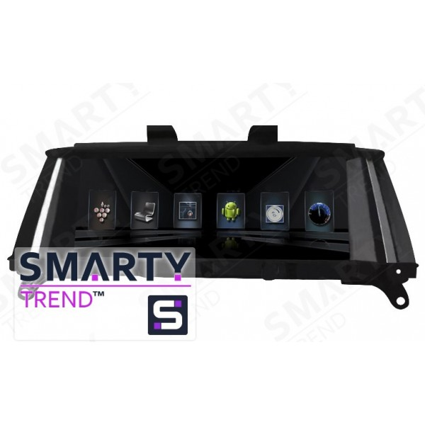 Штатная магнитола Smarty Trend для BMW X3 Series (F25) 2010-2017 - Android 7.1