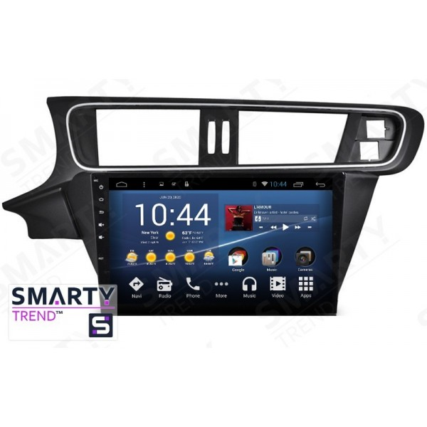 Штатная магнитола Smarty Trend для Citroen C3-XR 2015+ - Android 8.1 (9.0)