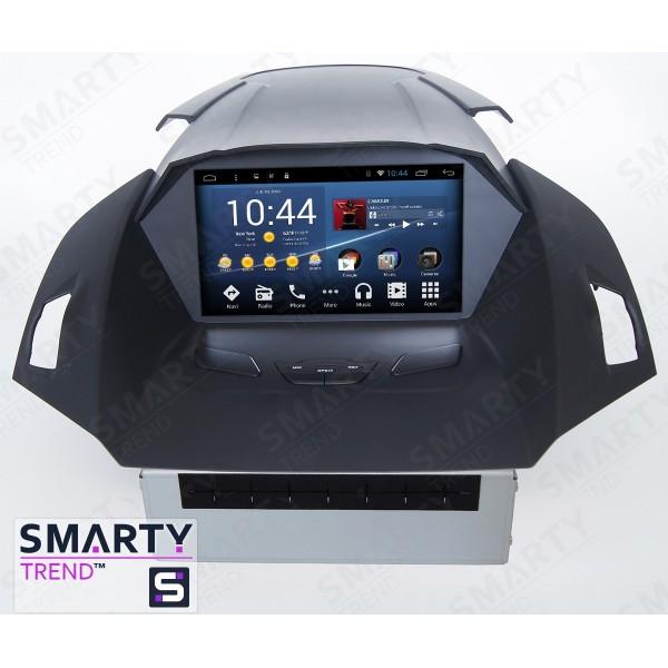 Штатная магнитола Smarty Trend для Ford C-Max 2011-2014 - Android 8.1 (9.0)