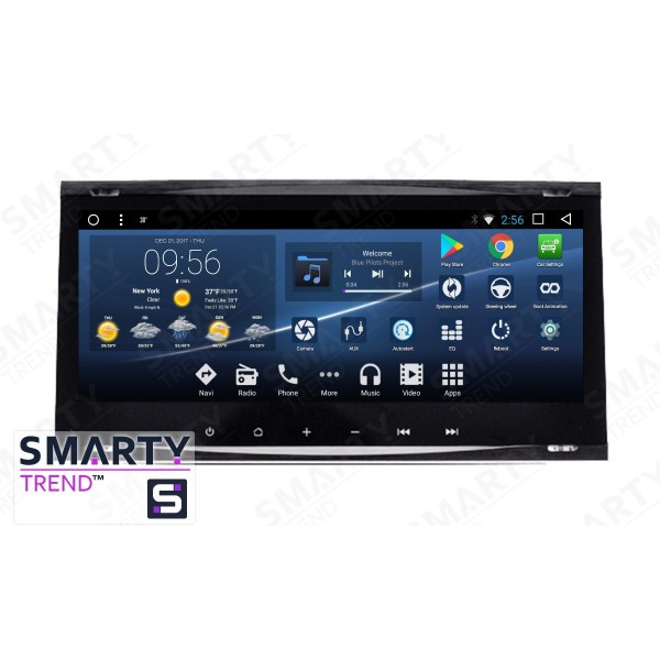 Штатная магнитола Smarty Trend для Ford Focus II 2009-2011 - Android 7.1