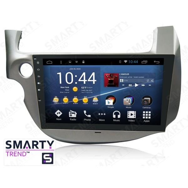 Штатная магнитола Smarty Trend для Honda Jazz / Fit - Android 8.1 (9.0)