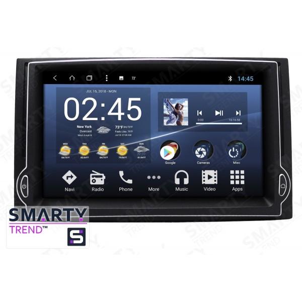 Штатная магнитола Smarty Trend для Hyundai H1 2007-2012 - Android 8.1 (9.0)