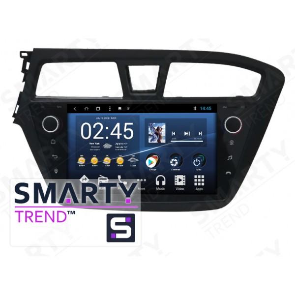 Штатная магнитола Smarty Trend для Hyundai i20 - Android 8.1 (9.0)