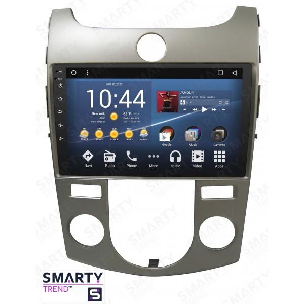 Штатная магнитола Smarty Trend для KIA Cerato Forte K3 2009-2012 - Android 8.1 (9.0)
