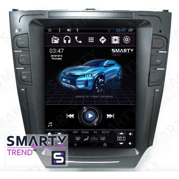 Штатная магнитола Smarty Trend для Lexus IS 2006-2012 (Tesla Style) - Android 6.0