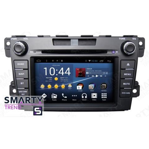 Штатная магнитола Smarty Trend ST8U-516K7035 для Mazda CX7 2007-2013 на Android 8.1.0 Oreo (обновление до Android 9.0 P)
