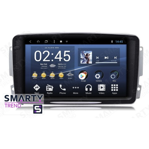 Штатная магнитола Smarty Trend ST3P2-516PK6007 для Mercedes Benz C-Class (w203) на Android 7.1.2 (Nougat)