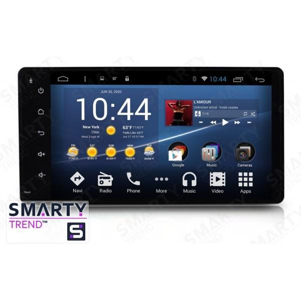 Штатная магнитола Smarty Trend для Mitsubishi Pajero - Android 7.1