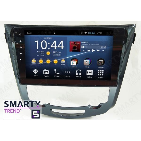 Штатная магнитола Smarty Trend для Nissan Qashqai 2014 - Android 8.1 (9.0)