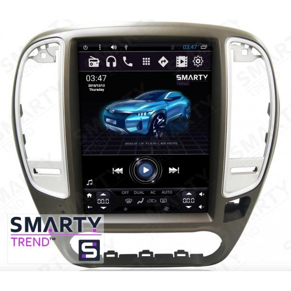 Штатная магнитола Smarty Trend для Nissan Sentra / Sylphy (Tesla Style) - Android 6.0