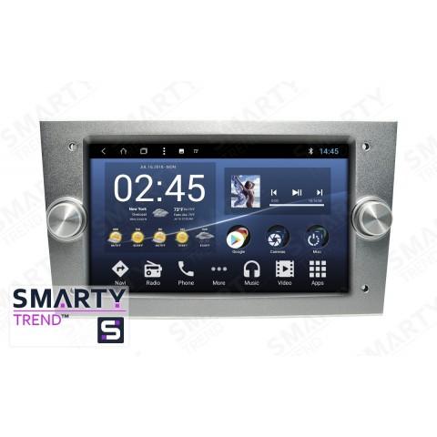 Штатная магнитола Smarty Trend ST3P2-516P8711 для Opel Vectra C на Android 7.1.2 (Nougat)