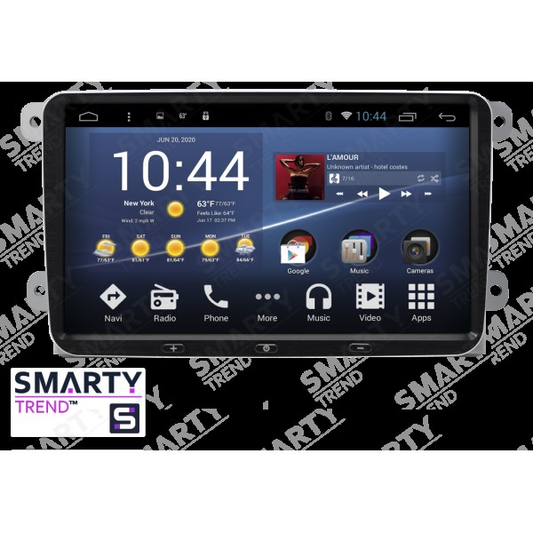 Штатная магнитола Smarty Trend для Seat Leon - Android 7.1