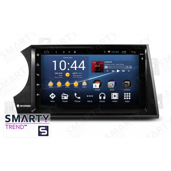 Штатная магнитола Smarty Trend для SsangYong Actyon 2006-2013 - Android 7.1