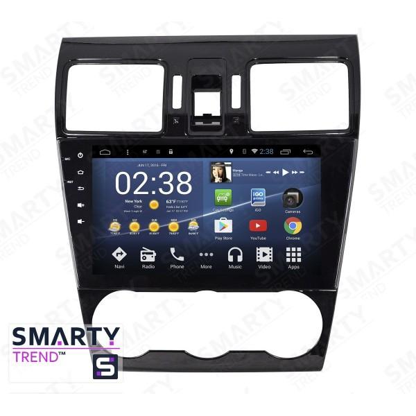 Штатная магнитола Smarty Trend для Subaru Forester 2013-2016 - Android 8.1 (9.0)