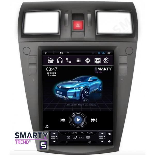 Штатная магнитола Smarty Trend для Subaru Forester 2013+ (Tesla Style) - Android 6.0