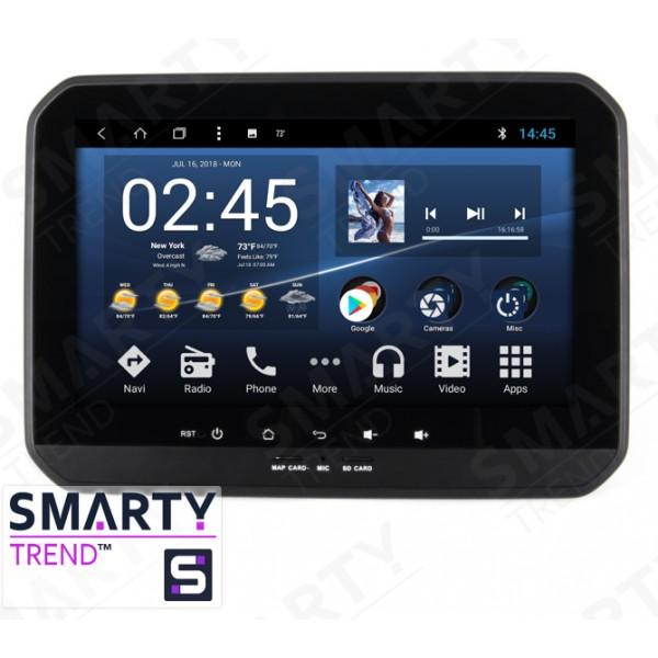 Штатная магнитола Smarty Trend для Suzuki Ignis - Android 8.1 (9.0)