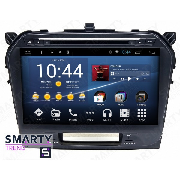 Штатная магнитола Smarty Trend для Suzuki Vitara - Android 8.1 (9.0)