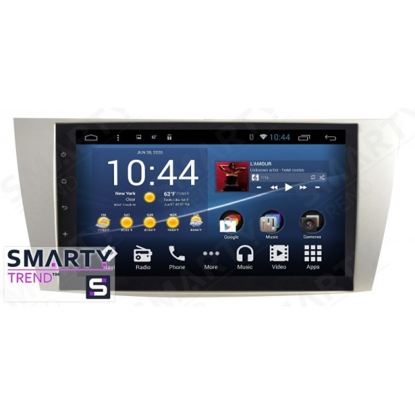Штатная магнитола Smarty Trend для Toyota Camry V40 2006-2011 - Android 7.1