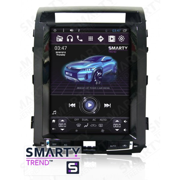 Штатная магнитола Smarty Trend для Toyota Land Cruiser 200 2008-2015 (Tesla Style) - Android 6.0