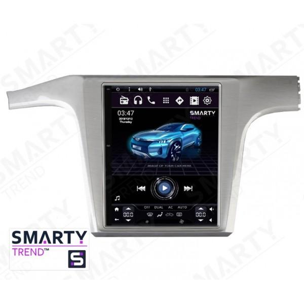 Штатная магнитола Smarty Trend для Volkswagen Passat B7 USA (Tesla Style) - Android 6.0