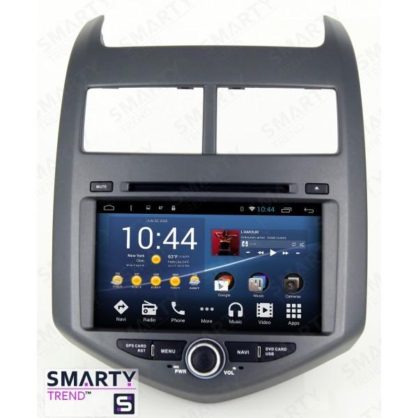 Штатная магнитола Smarty Trend для Chevrolet Aveo 2011-2015 - Android 8.1 (9.0)