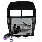 Штатная магнитола Smarty Trend ST3P2-516PK6988 для Citroen C4 Aircross на Android 7.1.2 (Nougat)