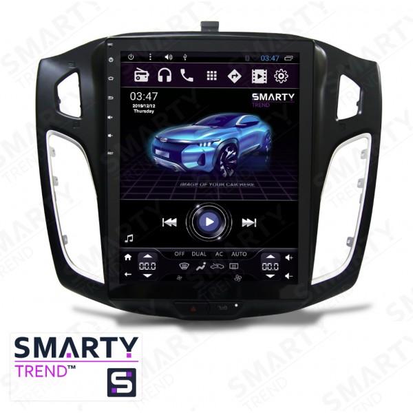 Штатная магнитола Smarty Trend для Ford Focus III 2012-2016 (Tesla Style) - Android 6.0