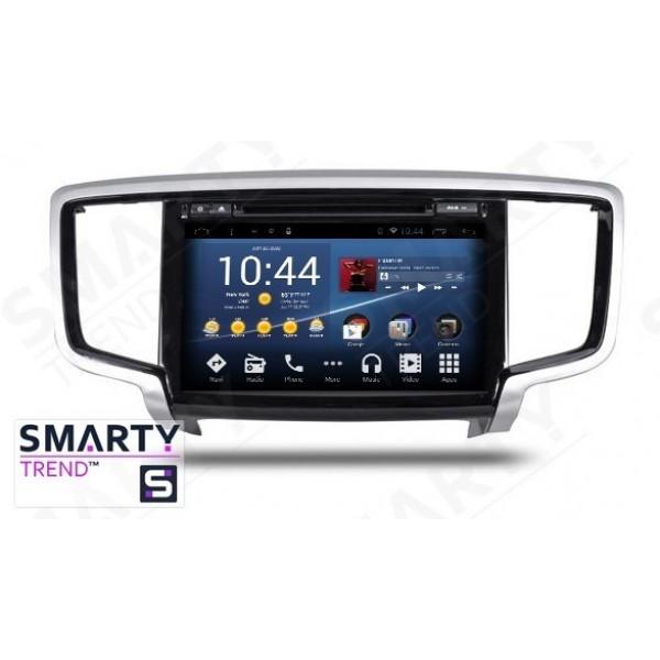 Штатная магнитола Smarty Trend для Honda Odyssey - Android 7.1