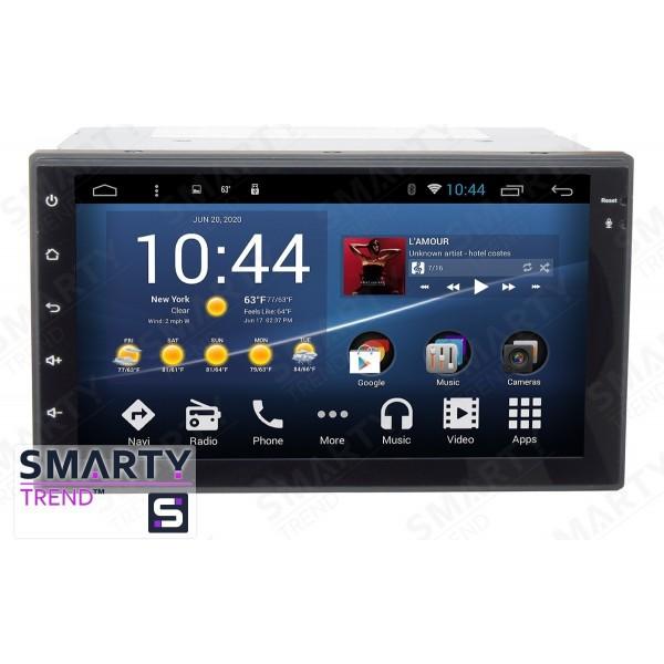 Штатная магнитола Smarty Trend для Hyundai Santa Fe 2006-2012 - Android 7.1