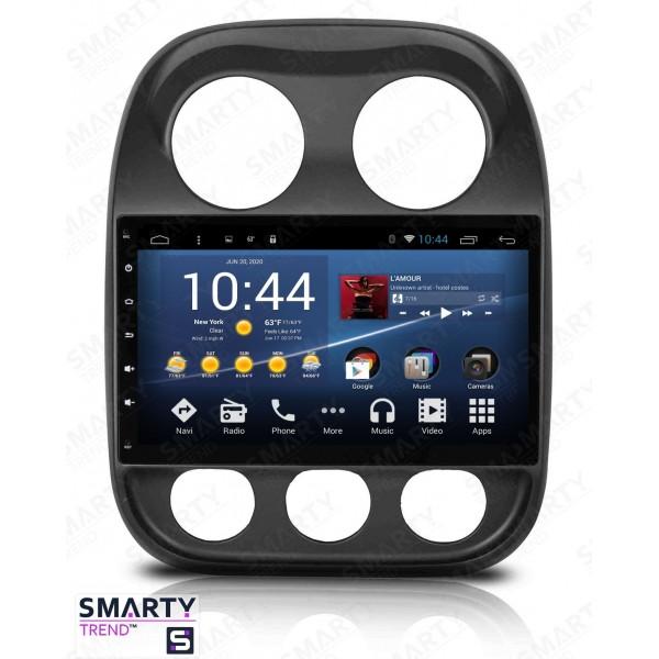 Штатная магнитола Smarty Trend для Jeep Compass - Android 7.1