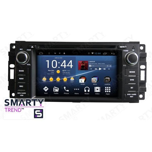 Штатная магнитола Smarty Trend для Jeep Compass - Android 8.1 (9.0)