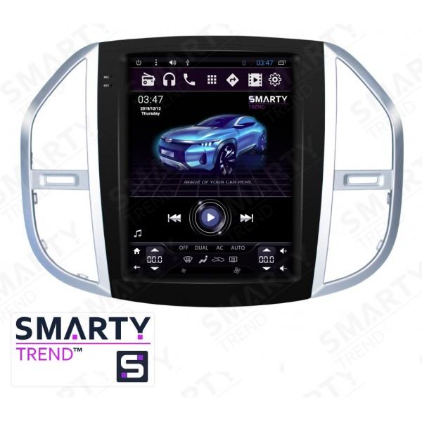 Штатная магнитола Smarty Trend для Mercedes-Benz Vito (Tesla Style) - Android 6.0