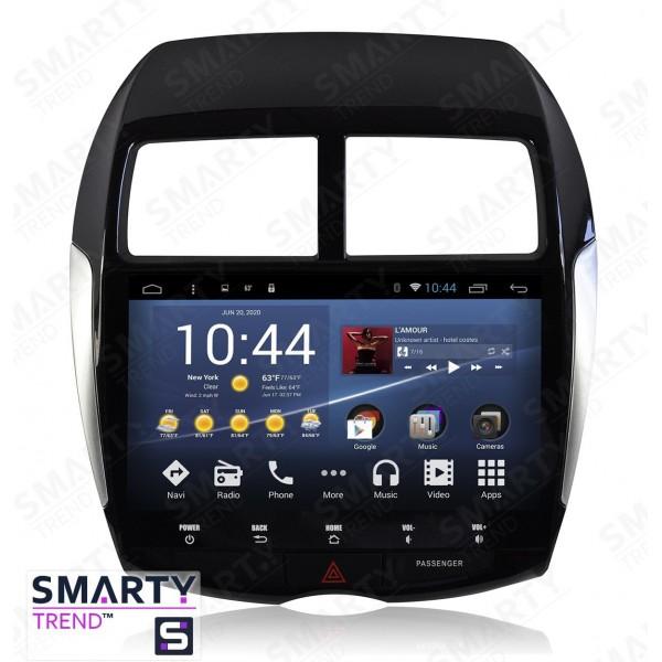 Штатная магнитола Smarty Trend для Mitsubishi ASX 2010-2012 - Android 7.1