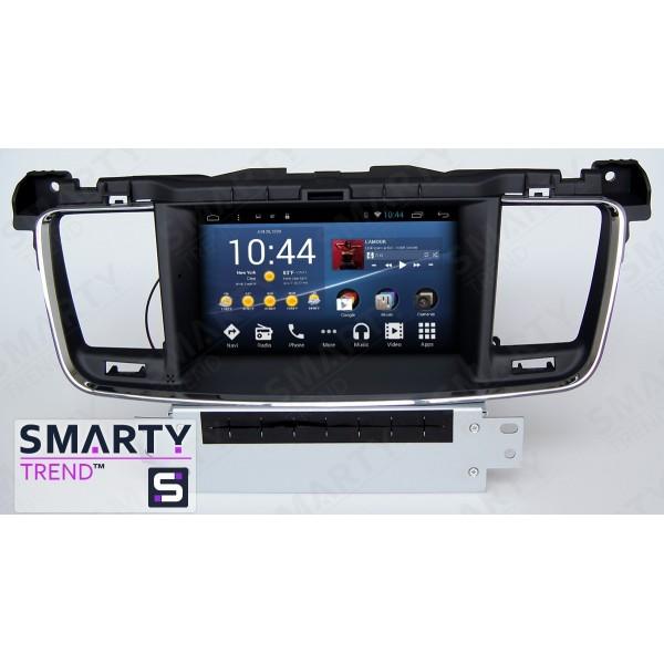 Штатная магнитола Smarty Trend для Peugeot 508 - Android 8.1 (9.0)